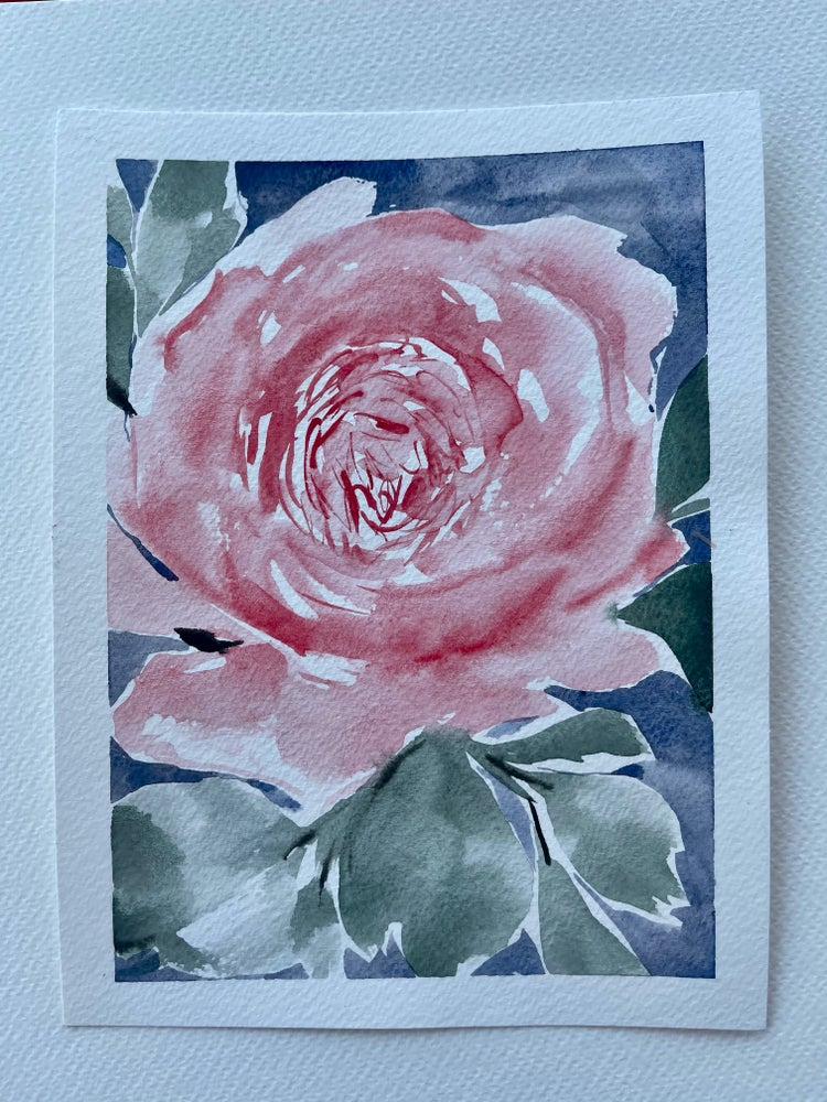 Image of 26/100 Day Painting Challenge - Original Watercolor Painting