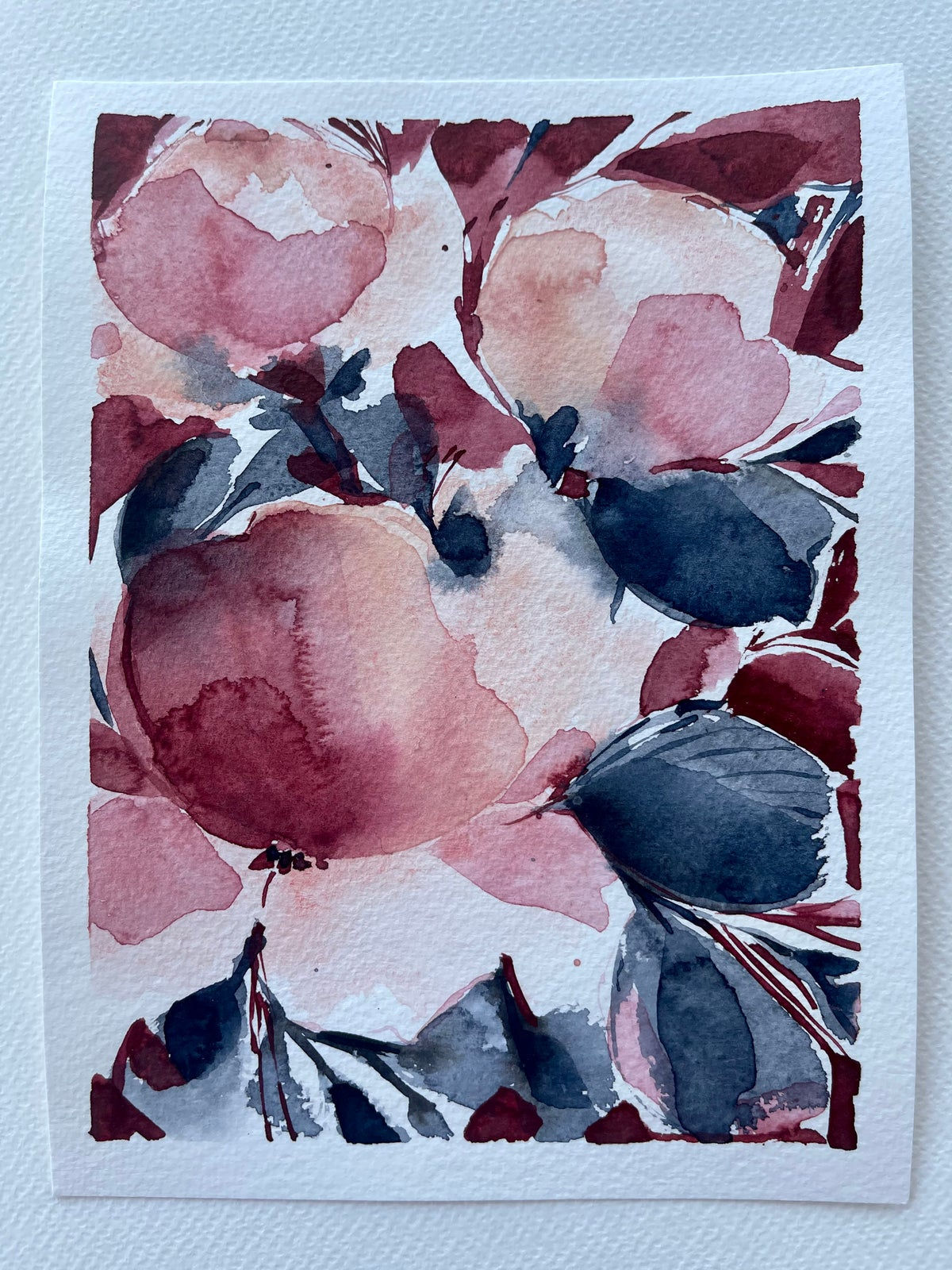 Image of 27/100 Day Painting Challenge - Original Watercolor Painting