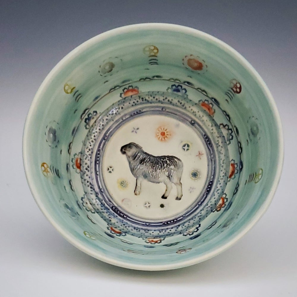 Image of Sheep Porcelain Dish