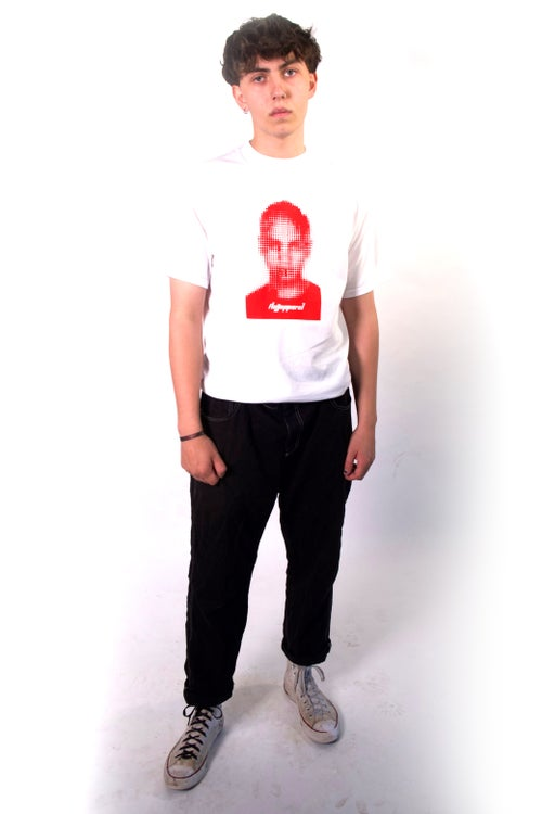 Image of White - Red FIKE Tee