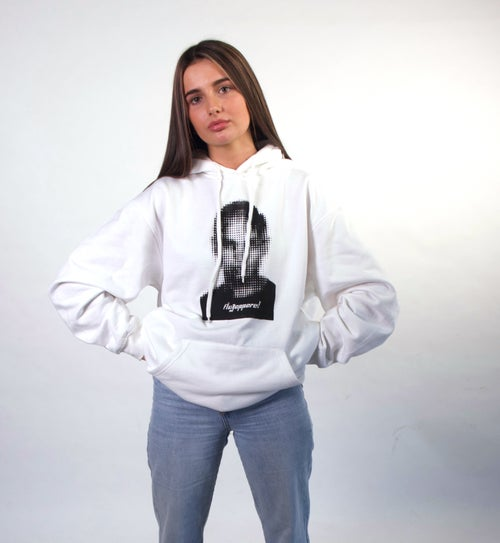 Image of Supersoft White FIKE Hoodie