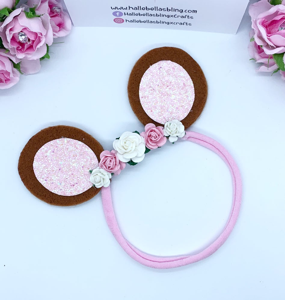 Image of Baby headband teddy bears picnic