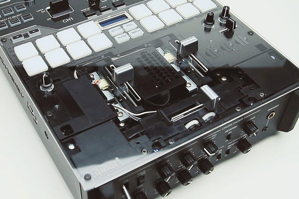 Image of DJM-S7, S9, S11 Clear Faceplate by Bihari