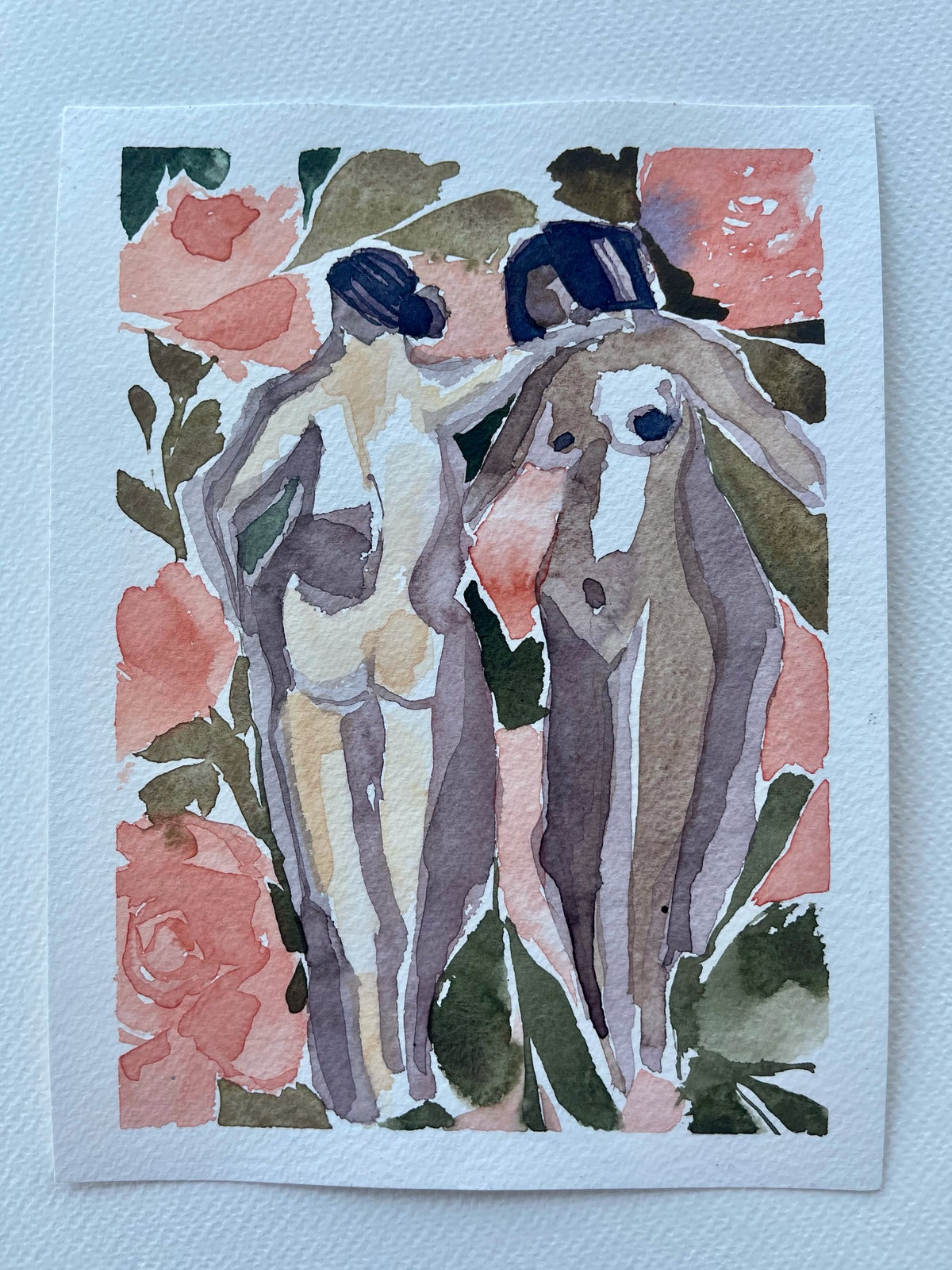 Image of 31/100 Day Painting Challenge - Original Watercolor Painting