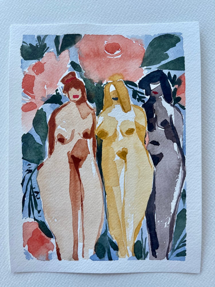 Image of 32/100 Day Painting Challenge - Original Watercolor Painting