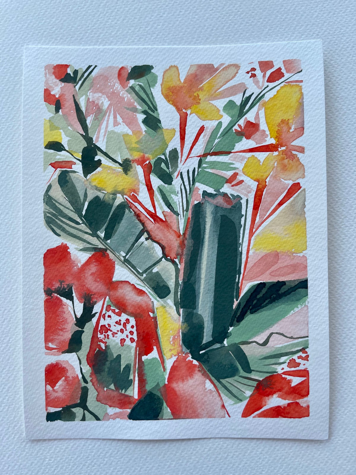 Image of 33/100 Day Painting Challenge - Original Watercolor Painting