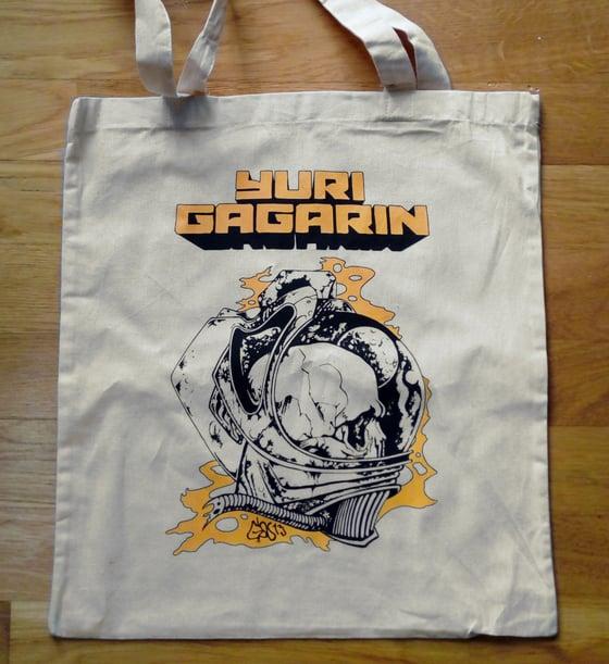 Image of Beige Necronaut Tote Bag