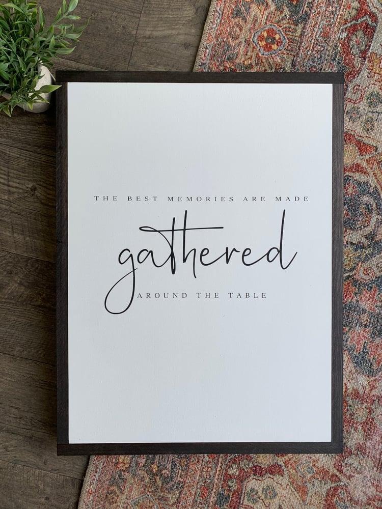 Image of Gathered