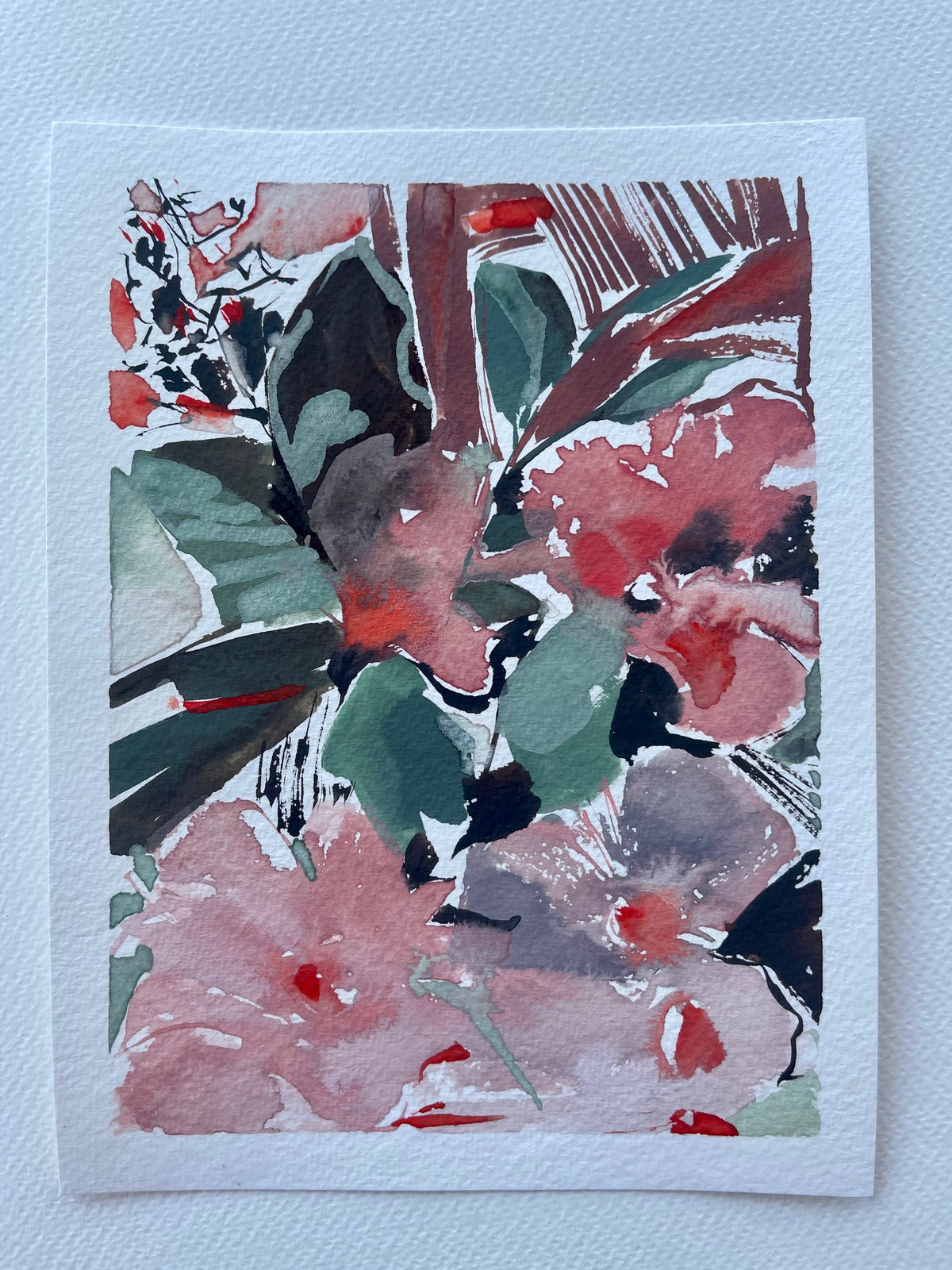Image of 34/100 Day Painting Challenge - Original Watercolor Painting