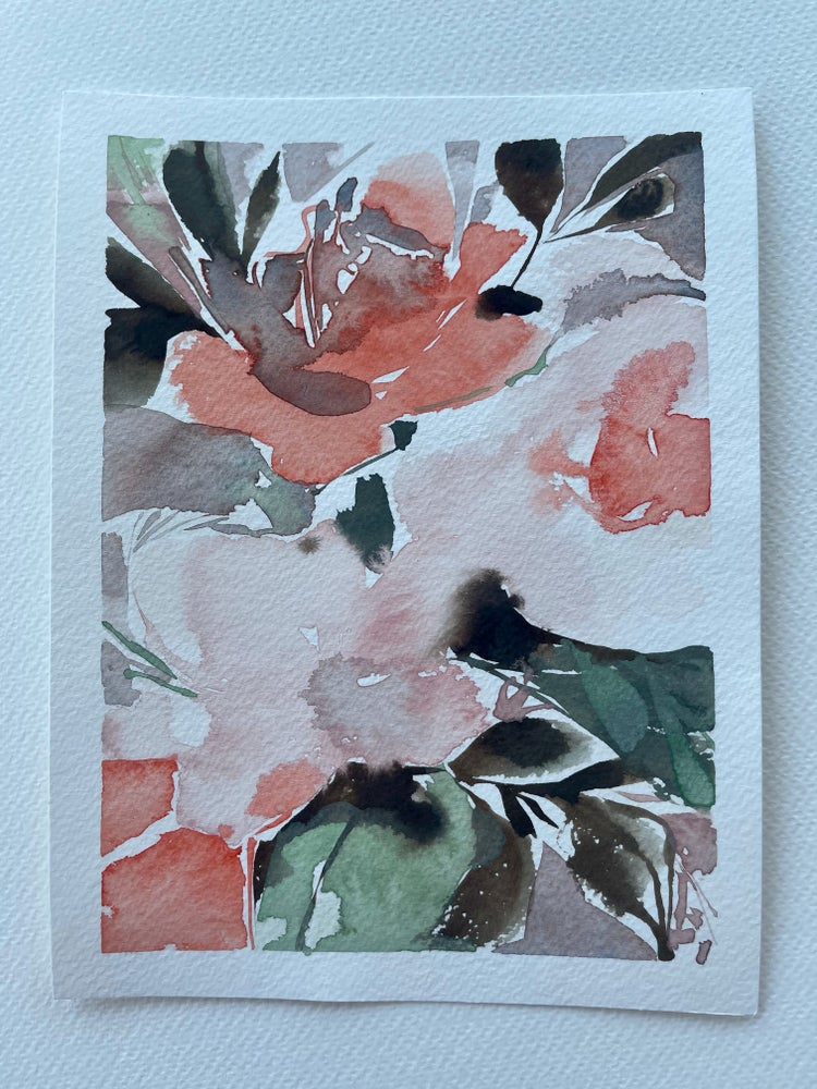 Image of 35/100 Day Painting Challenge - Original Watercolor Painting