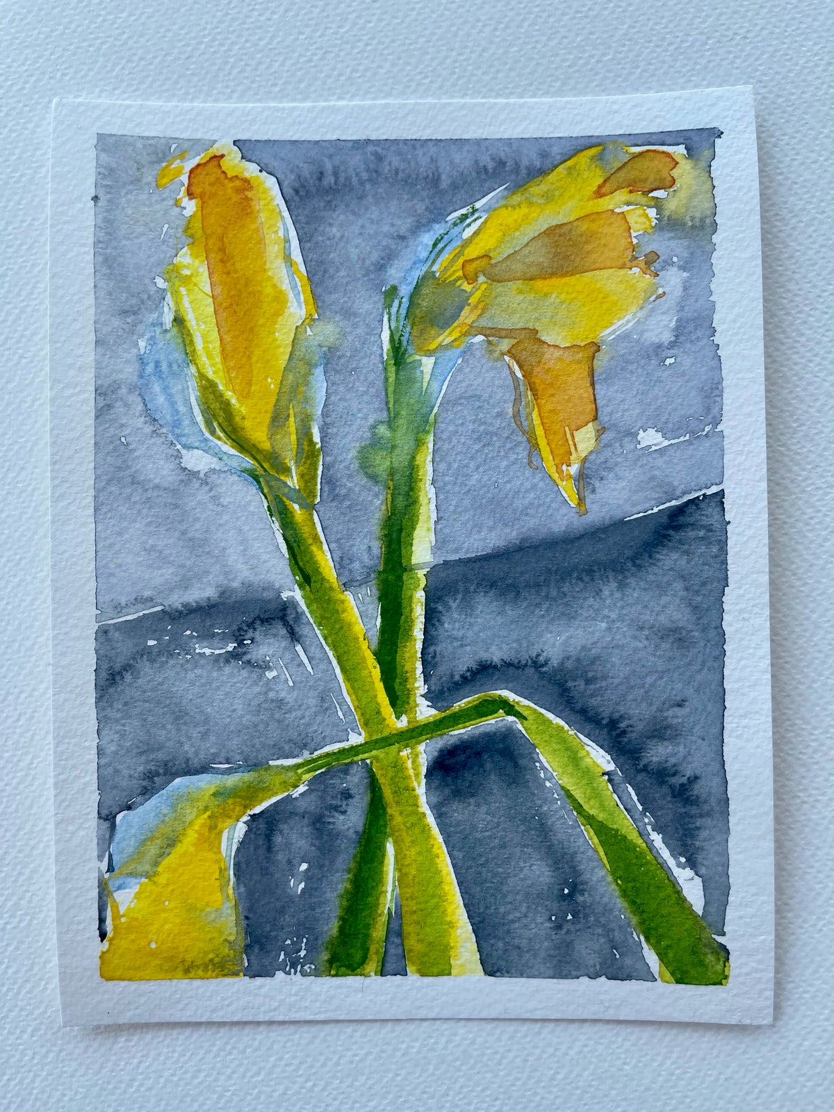 Image of 36/100 Day Painting Challenge - Original Watercolor Painting