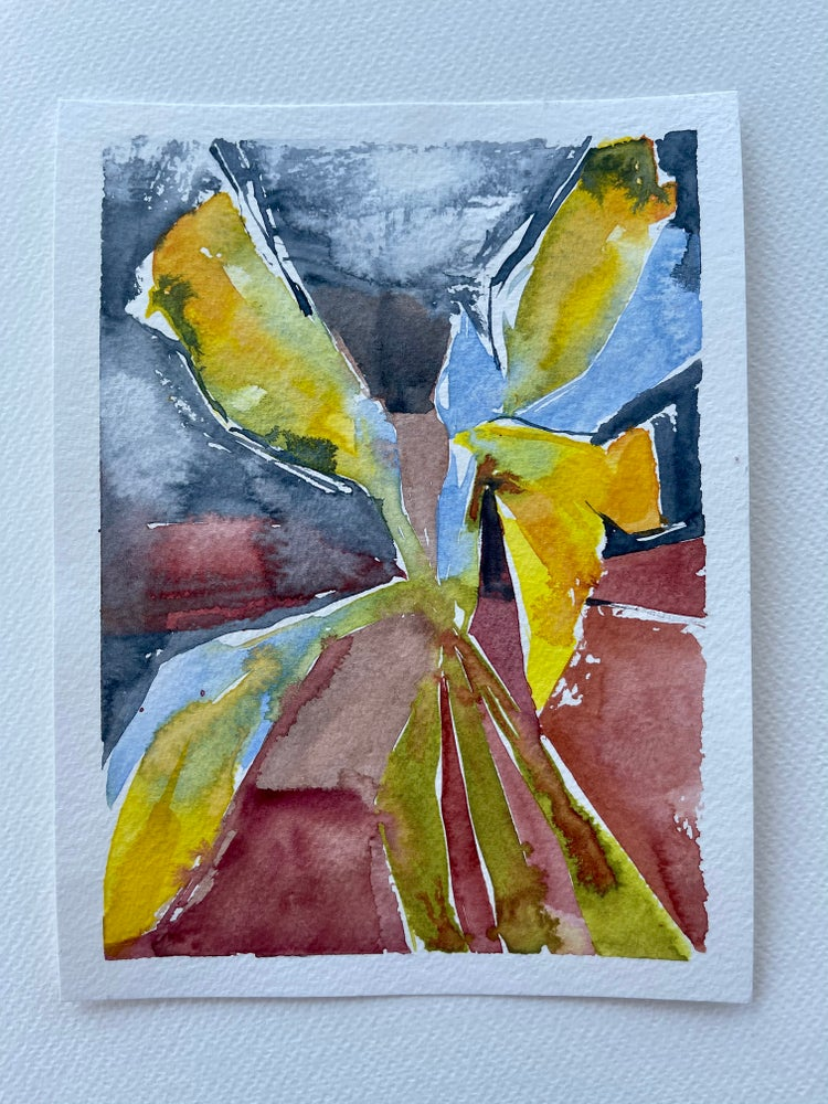 Image of 37/100 Day Painting Challenge - Original Watercolor Painting