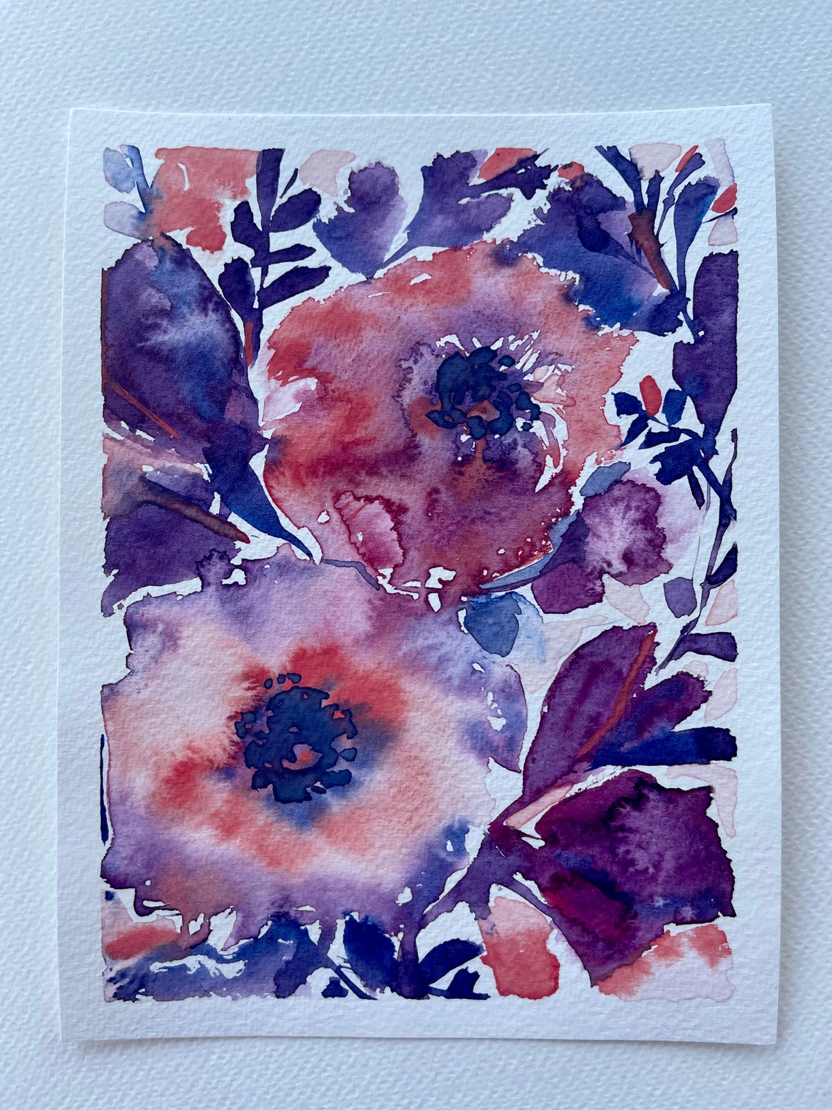 Image of 38/100 Day Painting Challenge - Original Watercolor Painting