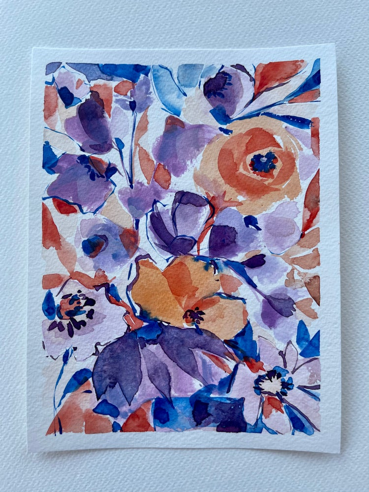 Image of 39/100 Day Painting Challenge - Original Watercolor Painting