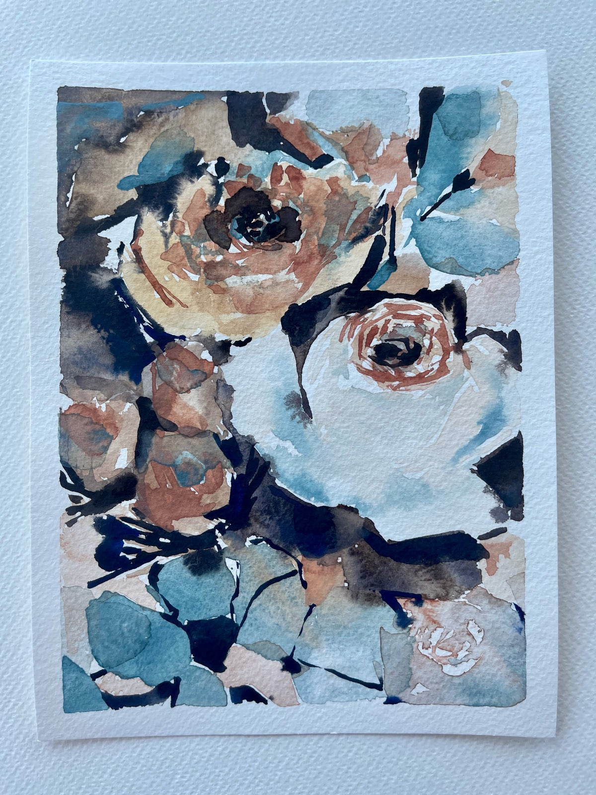 Image of 40/100 Day Painting Challenge - Original Watercolor Painting