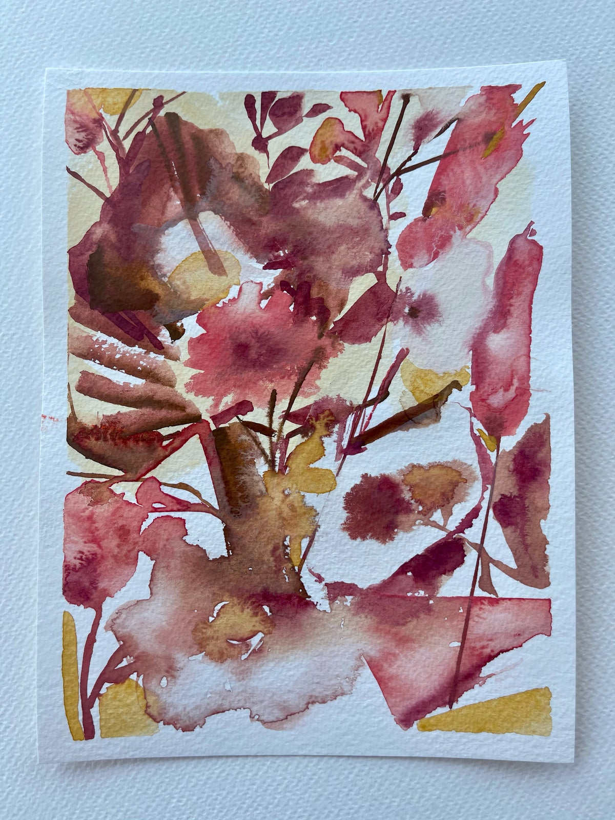 Image of 43/100 Day Painting Challenge - Original Watercolor Painting