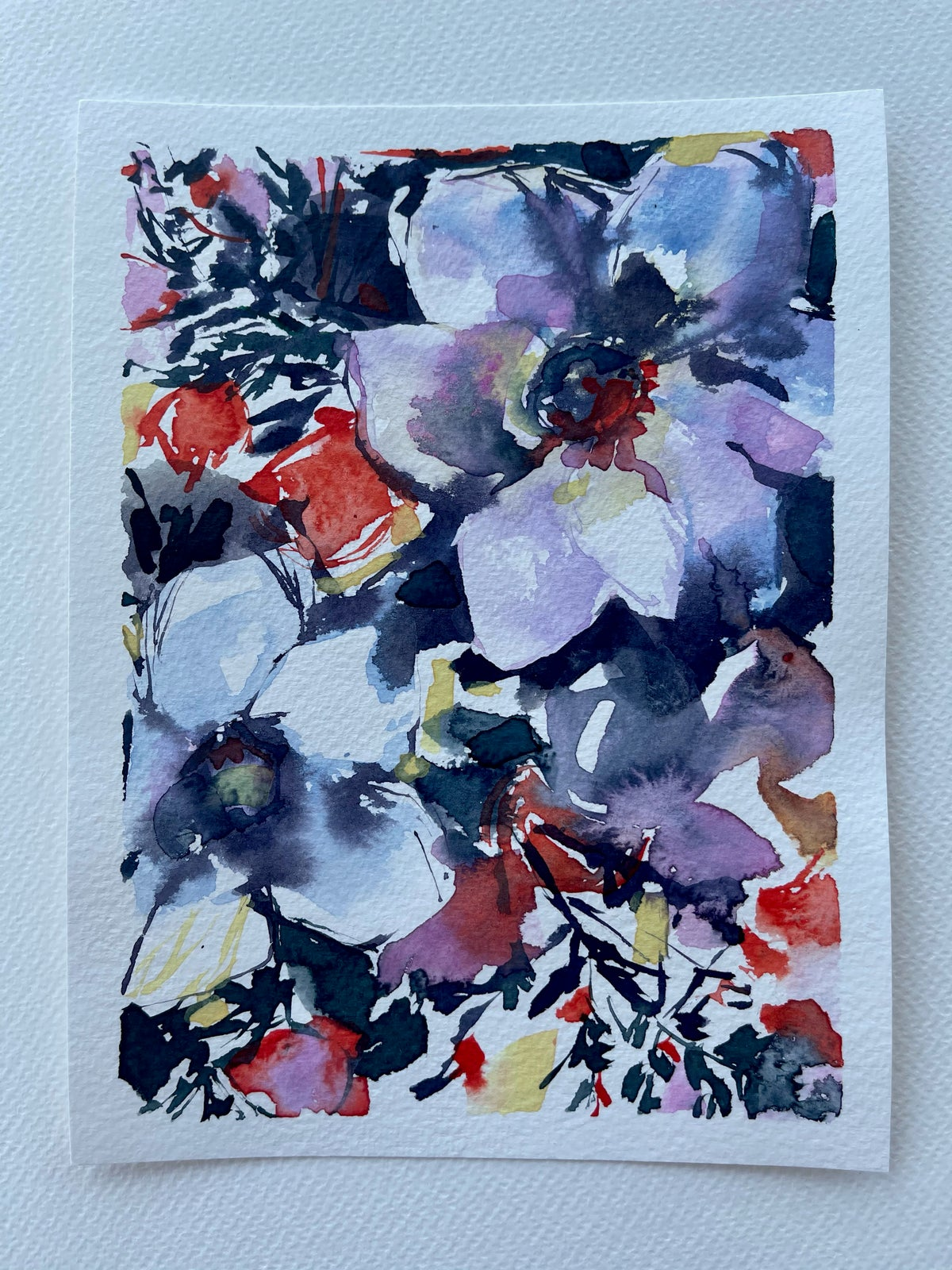 Image of 41/100 Day Painting Challenge - Original Watercolor Painting