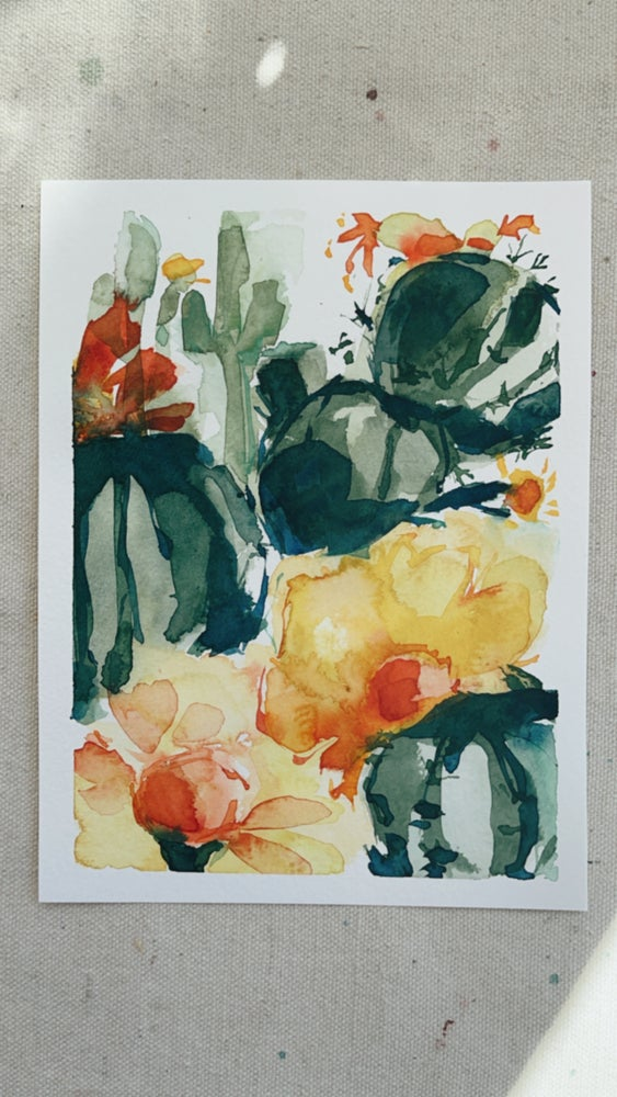 Image of 45/100 Day Painting Challenge - Original Watercolor Painting