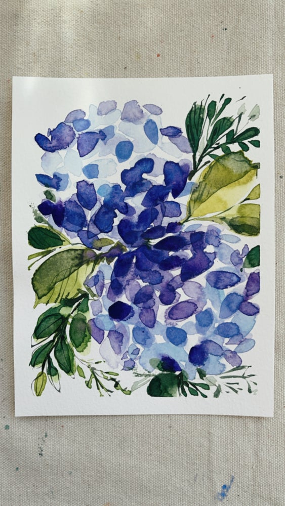 Image of 46/100 Day Painting Challenge - Original Watercolor Painting