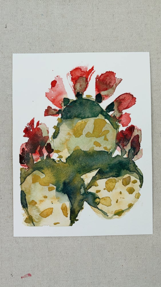Image of 47/100 Day Painting Challenge - Original Watercolor Painting