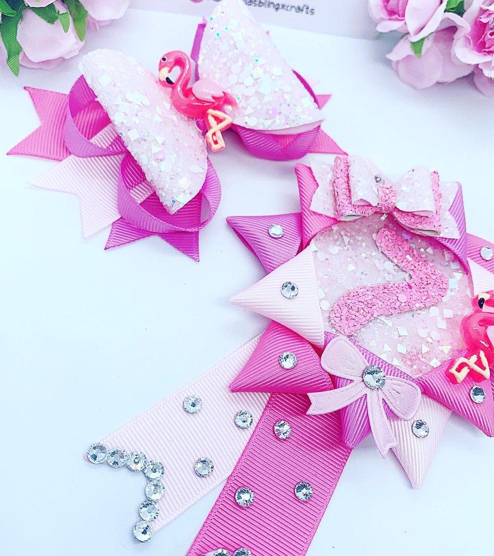 Image of Flamingo Birthday set