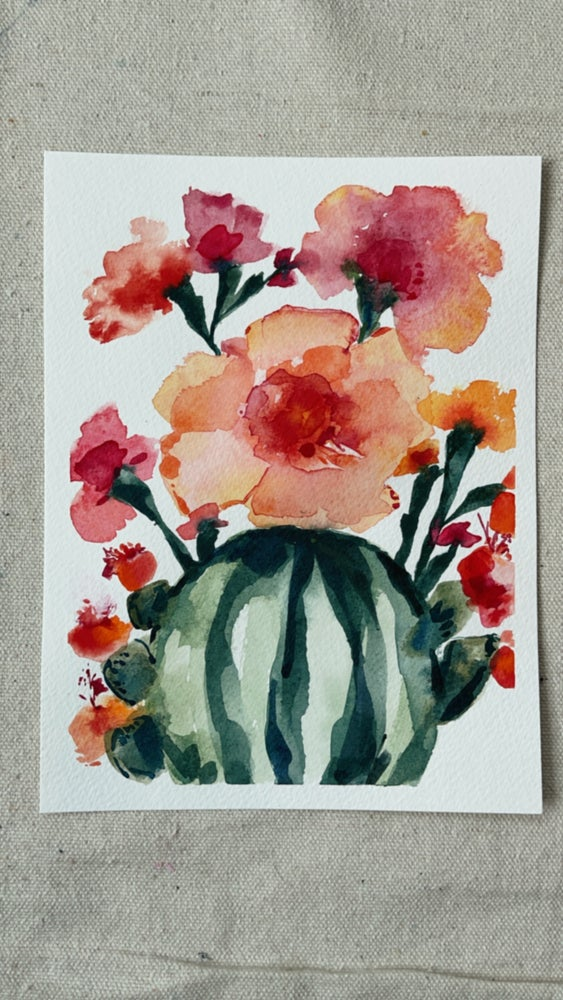 Image of 50/100 Day Painting Challenge - Original Watercolor Painting
