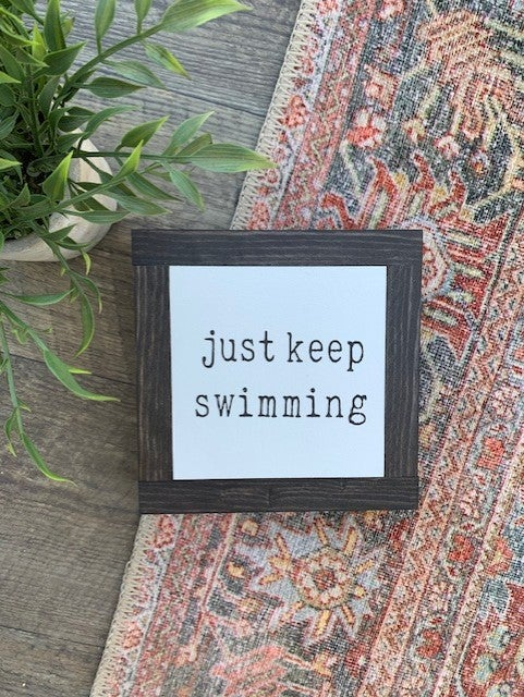 Image of Just Keep Swimming