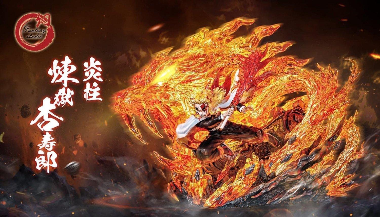 Image of [Hot Sale][Pre-Order]Demon Slayer Rengoku Kyoujurou 1:6 Resin Statue