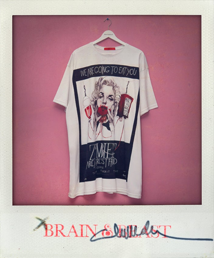 Image of / MARILYN GREAT T-SHIRT / MISFIT COLLECTION RE_EDITED PRINT! FEAT. FÉLIX ROCA /
