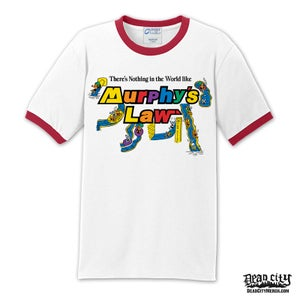 "Image of MURPHY'S LAW ""Action Park"" Ringer Shirt"