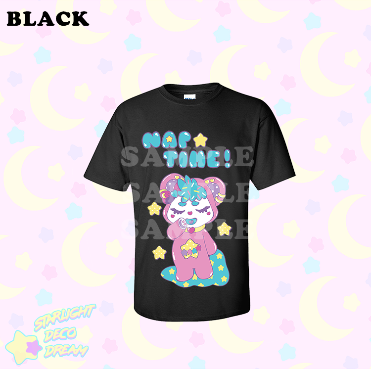 Image of *PRE ORDER* Bubby's Nap Time Screenprinted Tee