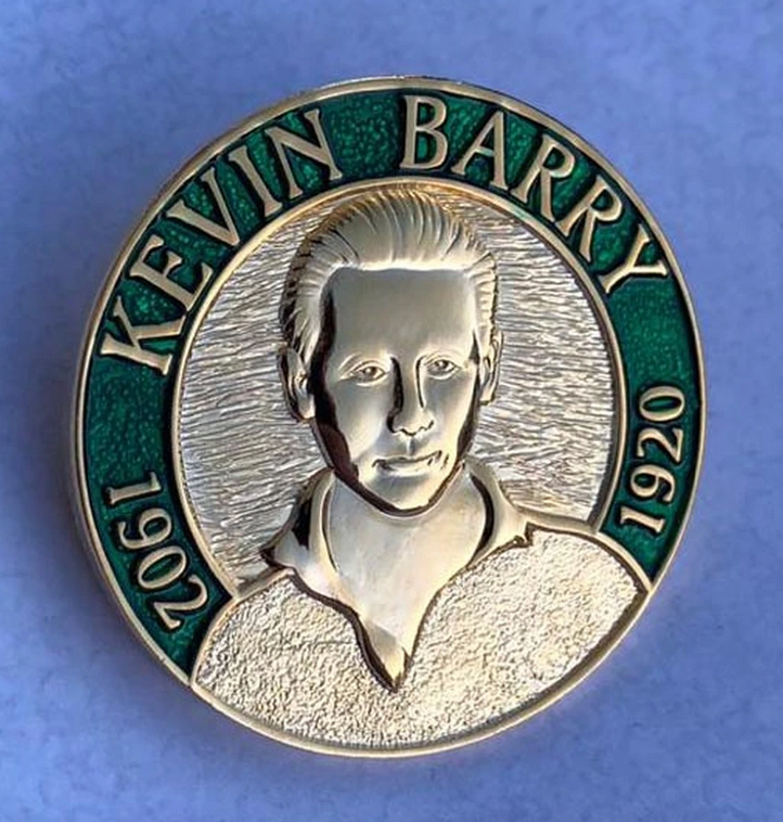 Image of Kevin Barry Pin