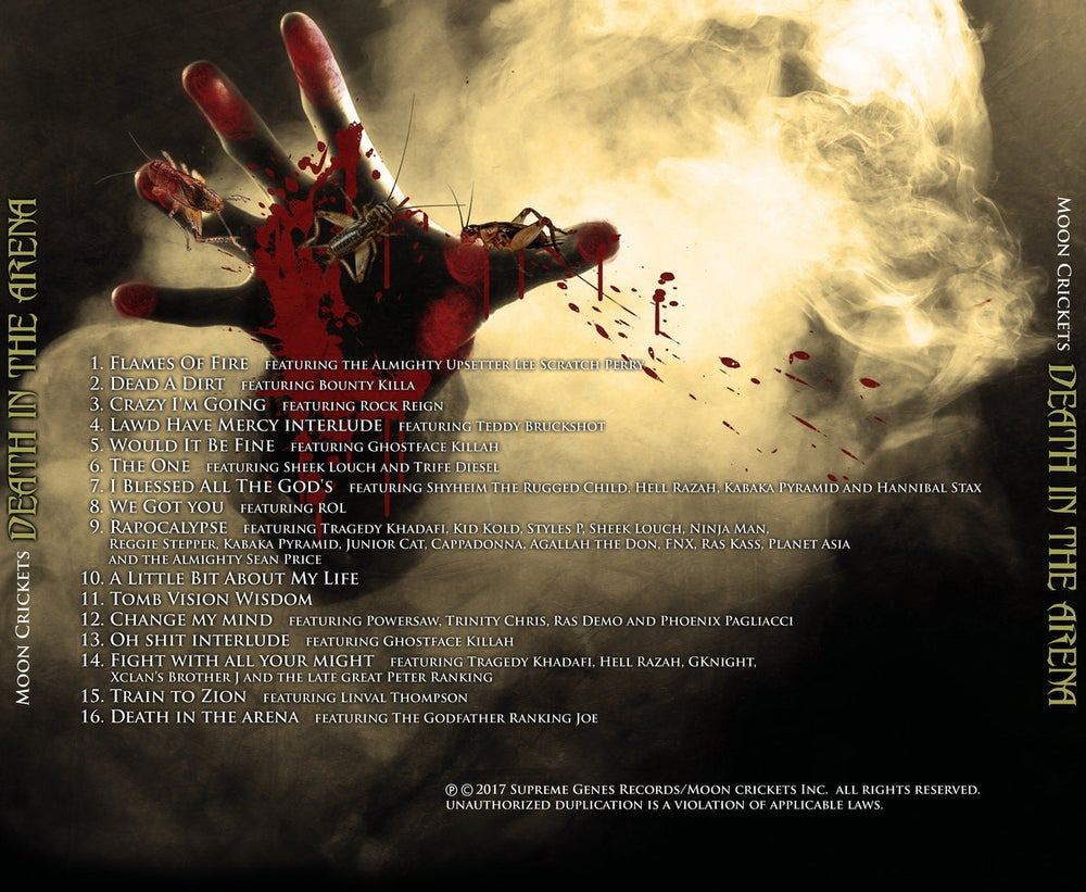 Death in the Arena (CD)