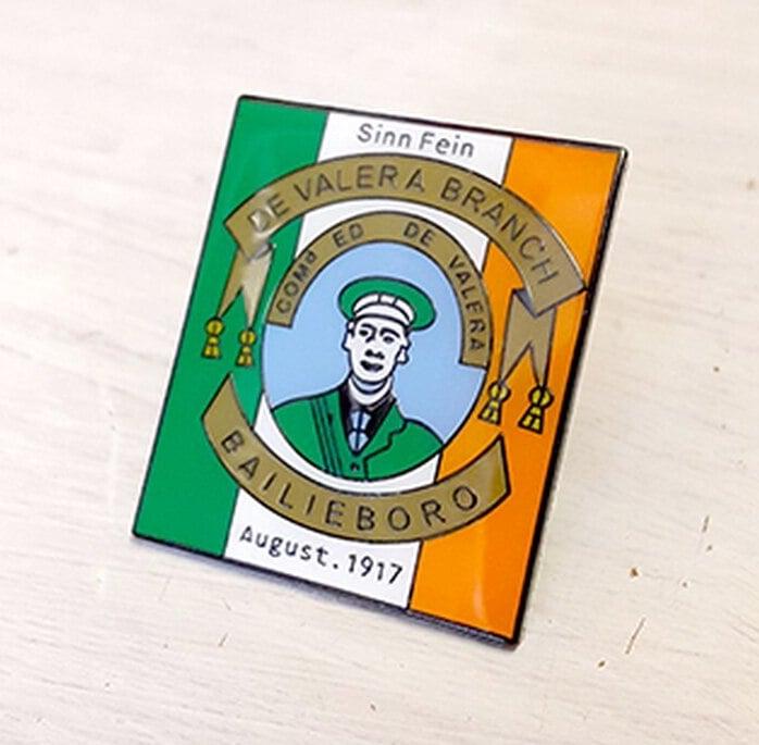 Image of Sinn Fein Bailieboro Branch Pin 1917