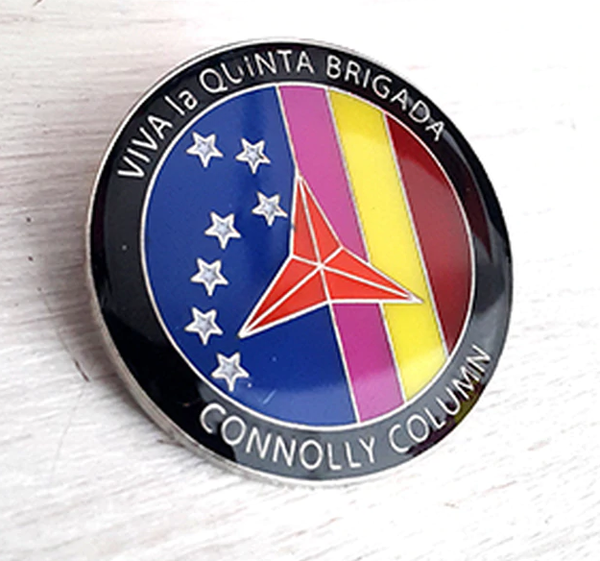 Image of Connolly Column Badge