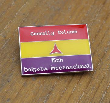 Image of Irish International Brigades pin