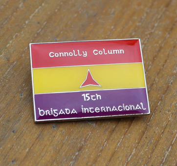 Image of Irish International Brigades pin