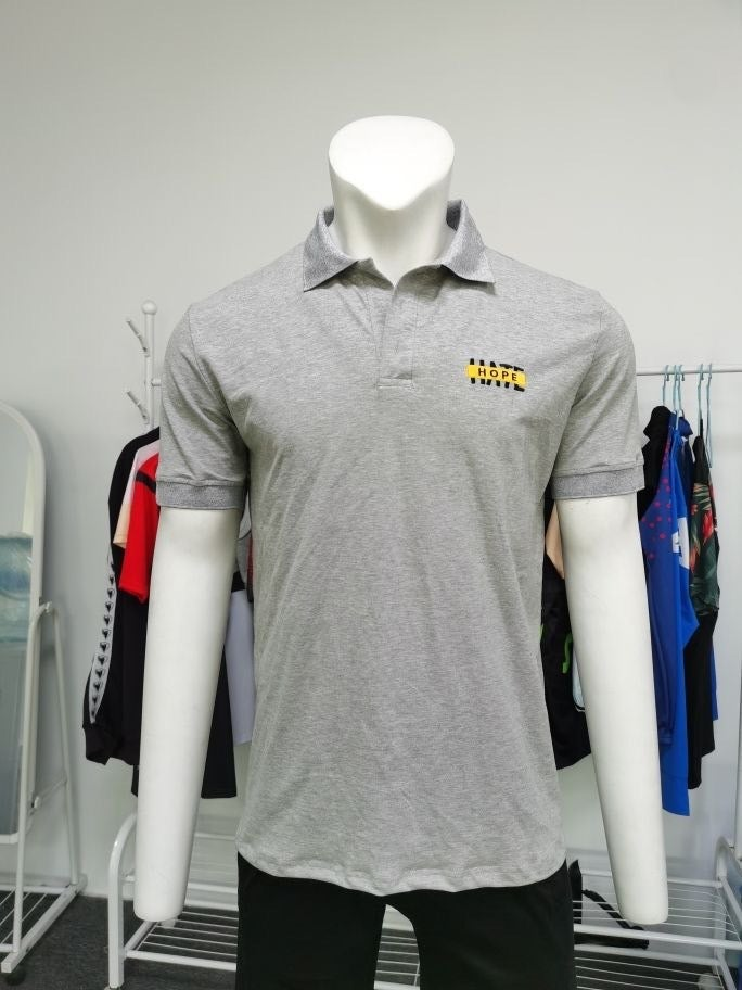 HOPE not hate embroidered polo shirt