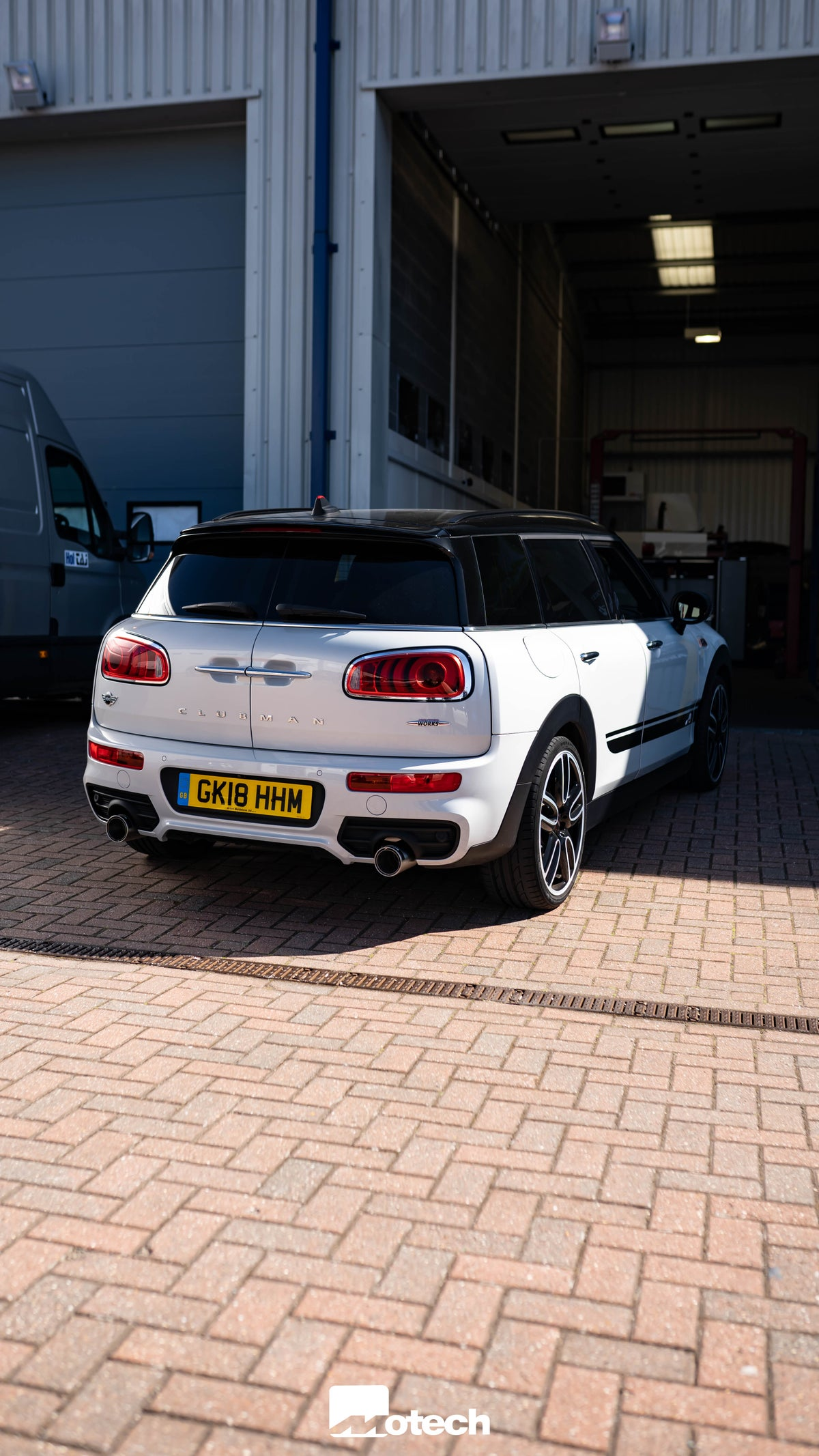 Image of MINI JCW 230 Clubman F54 Cat Back Remus Exhaust (2016-2018)
