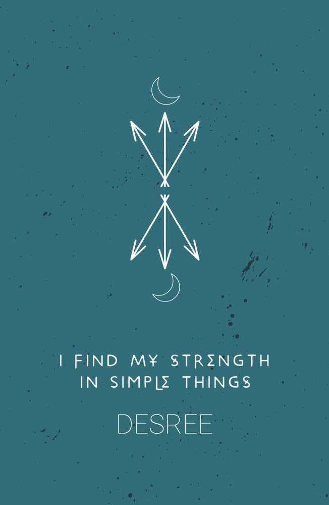 Image of I Find My Strength in Simple Things by Desree
