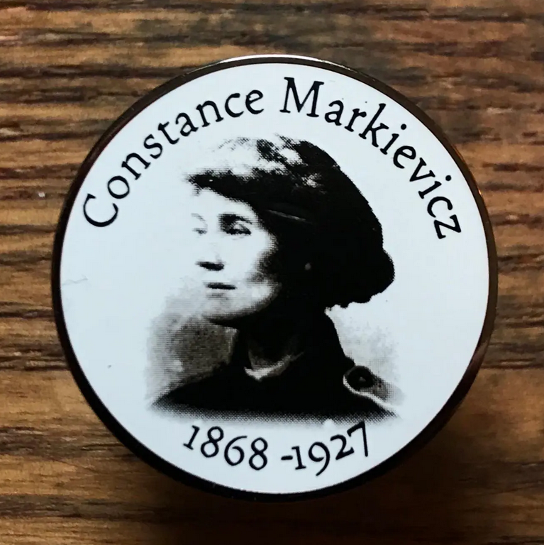 Image of Constance Markievicz Pin