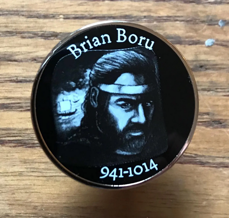 Image of Brian Boru Pin