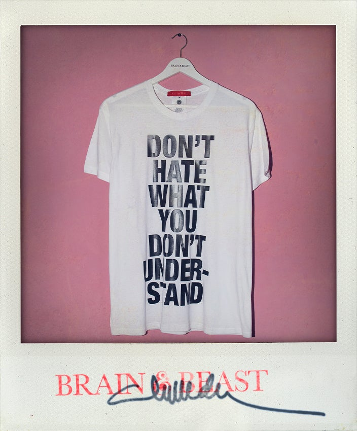 Image of / DON´T HATE T-SHIRT /