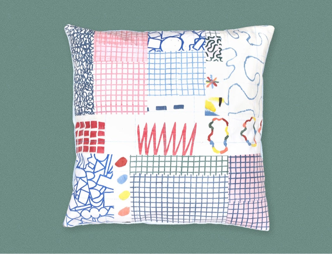 Image of PATCHWORK PILLOWCASE 6 & 7