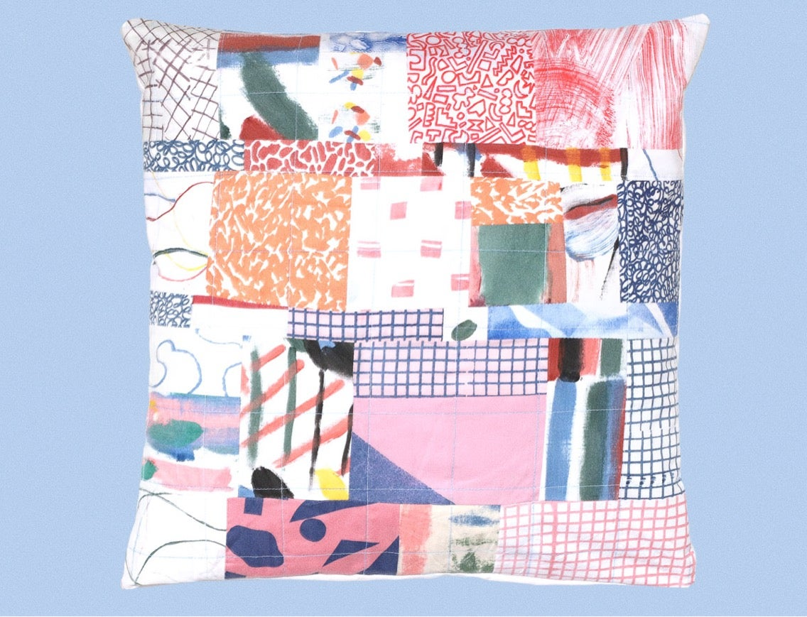 Image of PATCHWORK PILLOWCASE 8