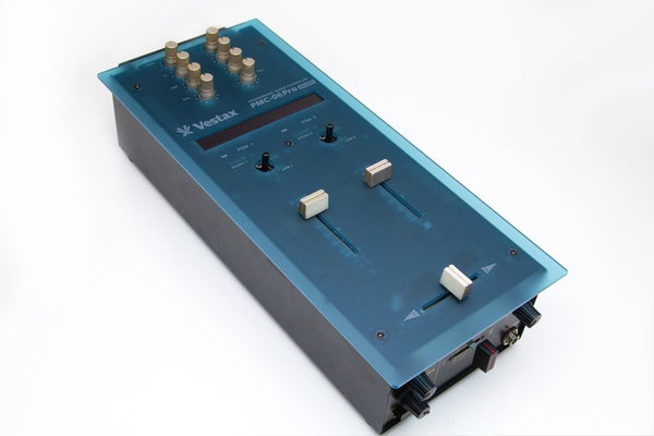 Image of PMC-06 Blue Translucent faceplate by Bihari