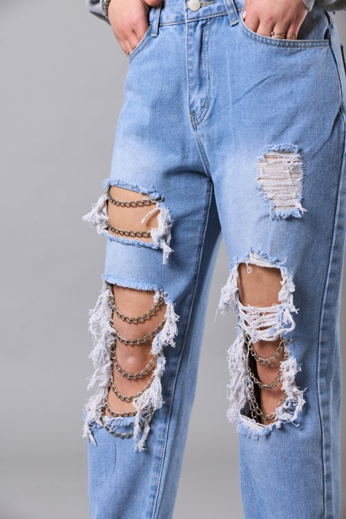 Image of CHAINS JEANS