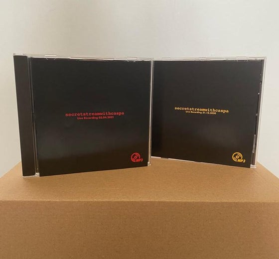 Image of secret stream with caspa twin pack  2 x FREE mp3 CD