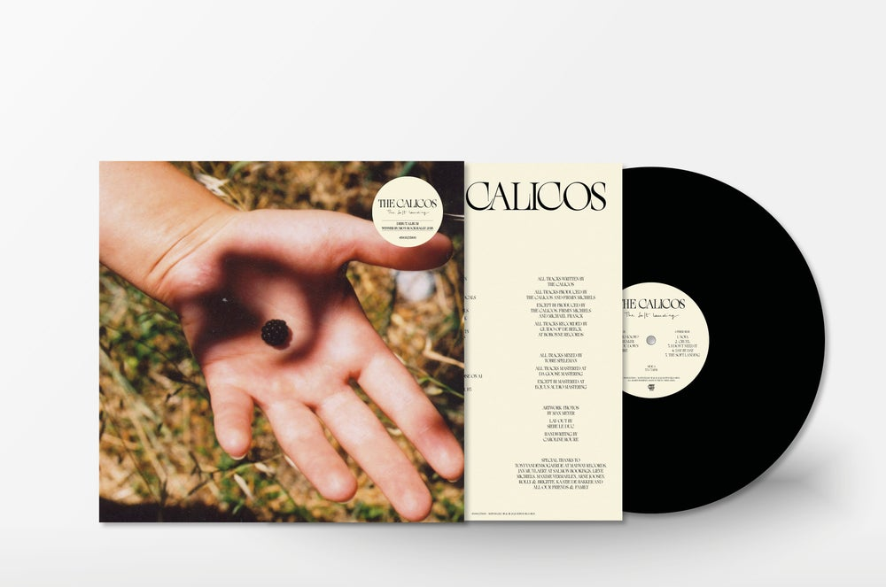 Image of THE CALICOS / THE SOFT LANDING (LP) - PRE-ORDER