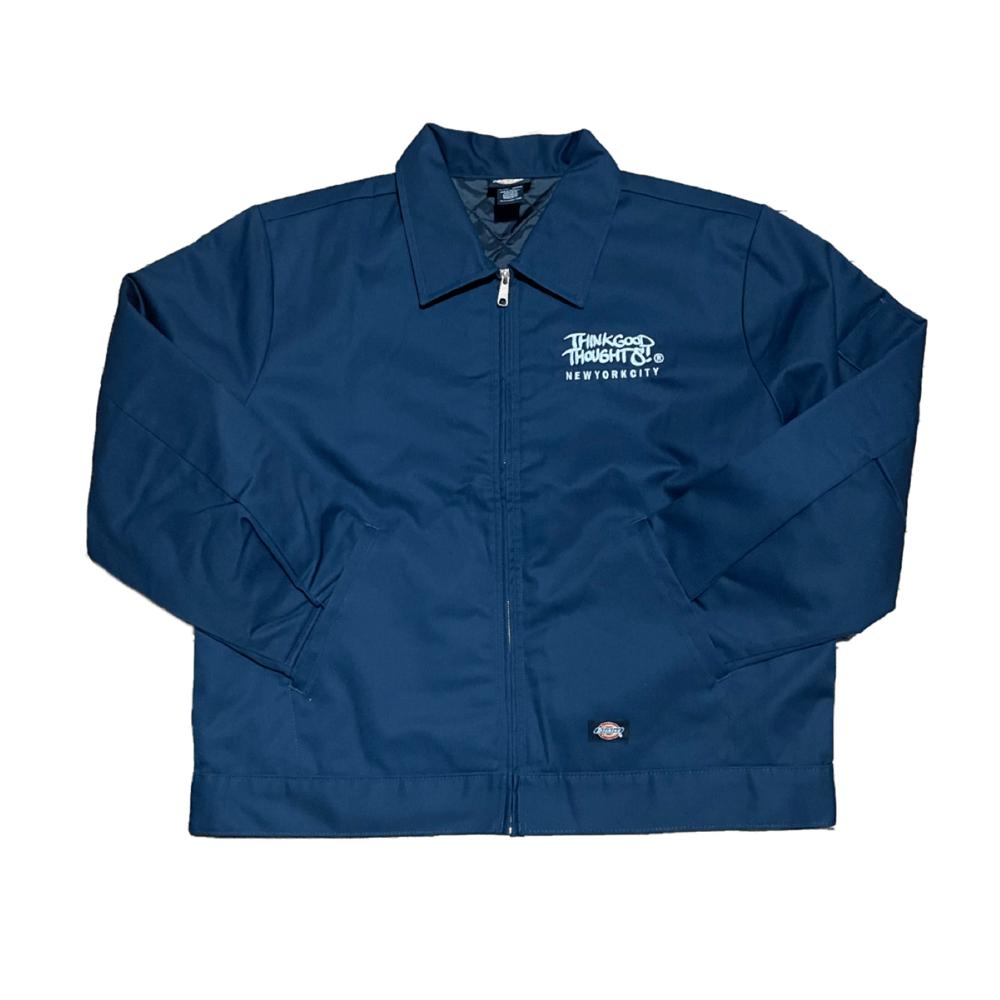 Image of Original Logo Dickies Work Jacket - Navy